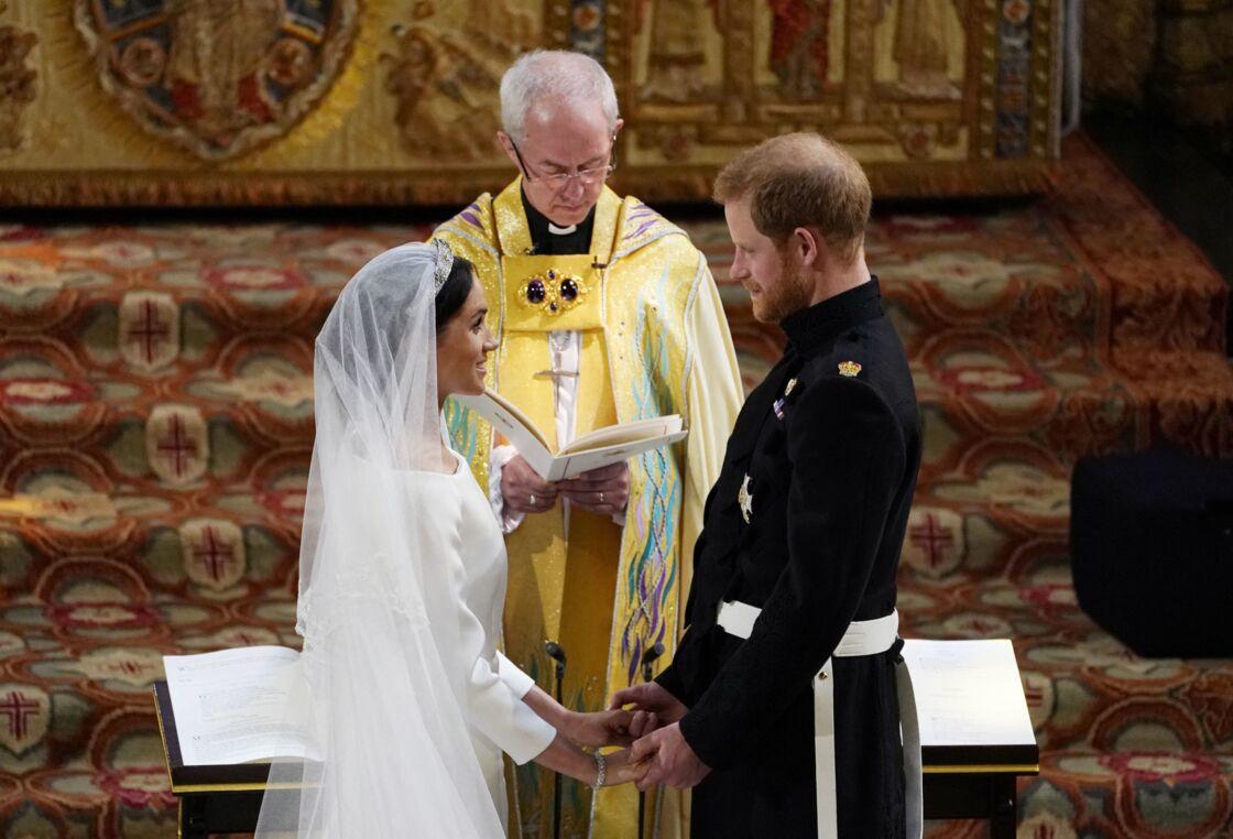 Le mariage de Meghan et Harry, célébré en grandes pompes devant les caméras du monde entier, en 2018.