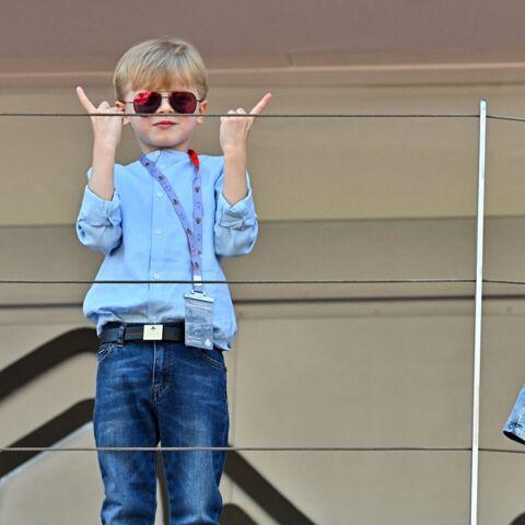 PHOTOS: Jacques et Gabriella taquins ont éclipsé le prince Albert II au E-Prix De Monaco