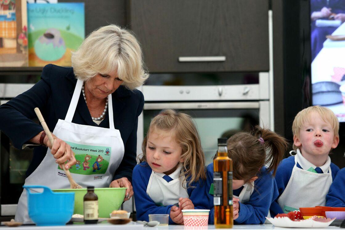 Camilla Parker Bowles très proche des enfants