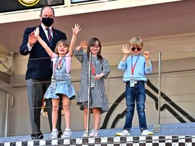 PHOTOS : Jacques et Gabriella taquins ont éclipsés le prince Albert II au E-Prix De Monaco