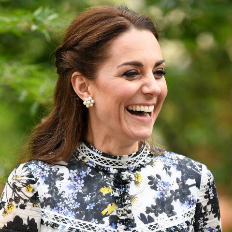 PHOTO –  Kate Middleton et sa demi-queue de cheval: ce détail passé inaperçu