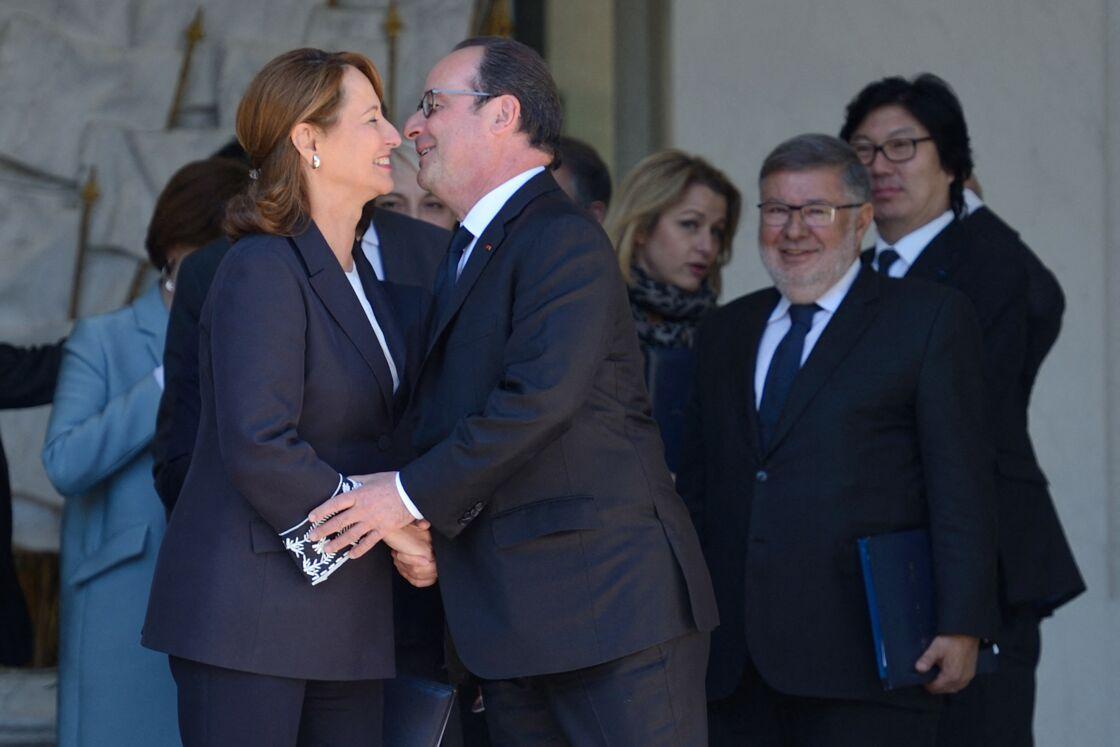 Segolene Royal et Francois Hollande en 2017