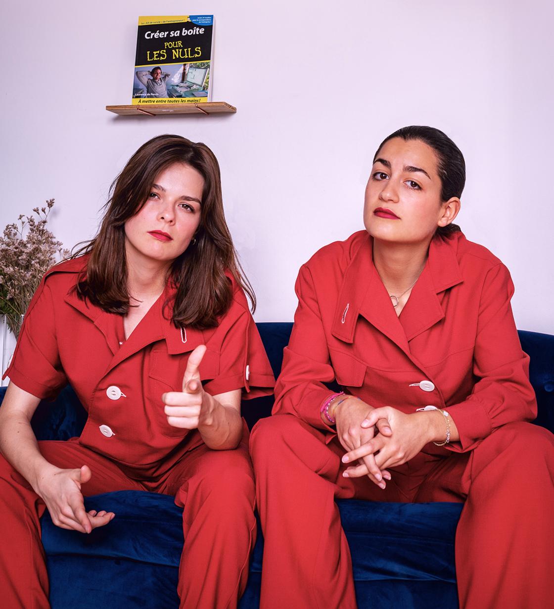 Mathilde Gindre et Sarah Nimir, fondatrices de Salut Beauté