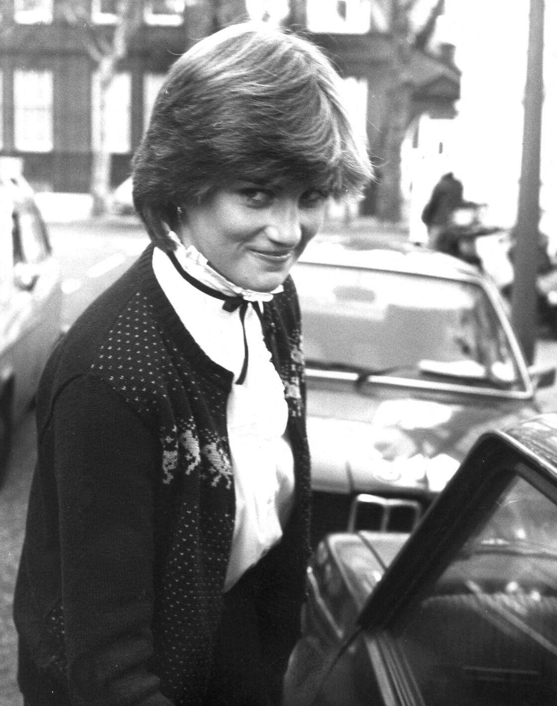 Diana Spencer, à Londres, le 15 novembre 1980