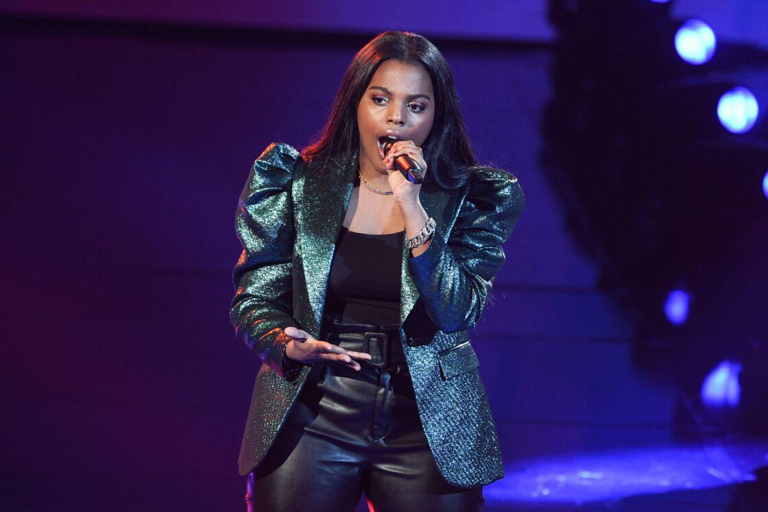 Mentissa dans The Voice