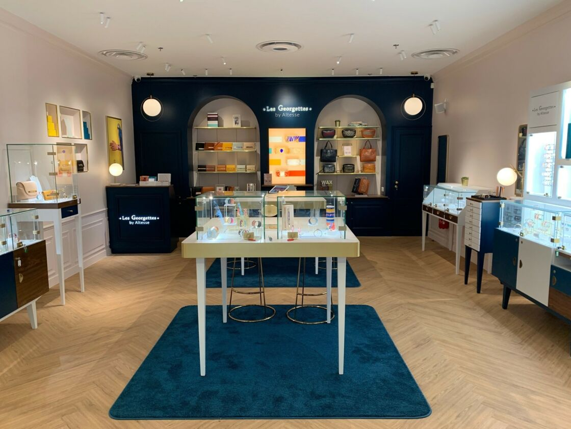 Les Georgettes sont présentes à Dijon et dans 50 pays, sans compter 3 000 points de vente et corners dans le monde