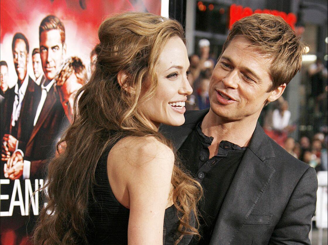 Brad Pitt et Angelina Jolie inséparables en 2007