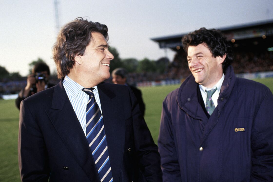 Bernard Tapie et Jean-Louis Borloo en 1993