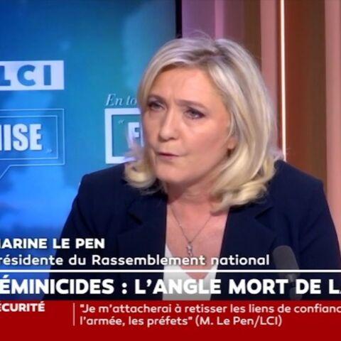 Marine Le Pen accuse Éric Dupond-Moretti de «harcèlement»
