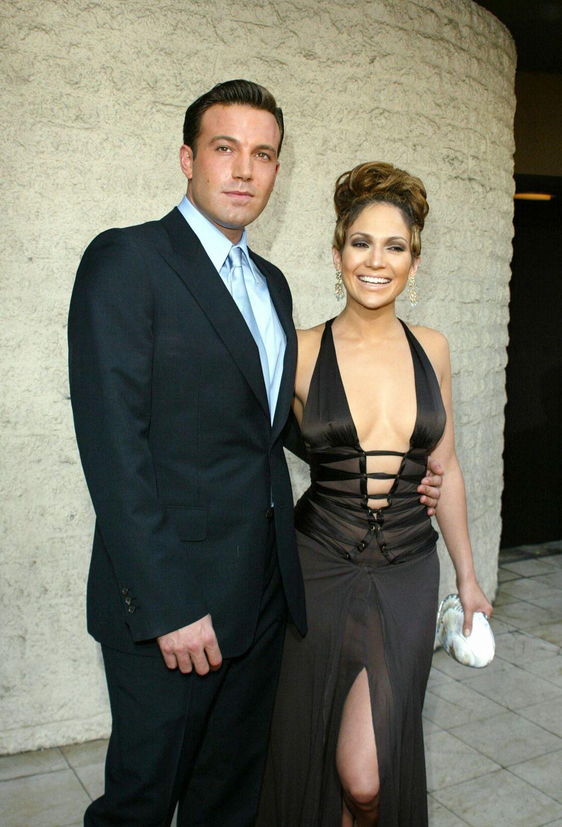 Ben Affleck et Jennifer Lopez en 2003.