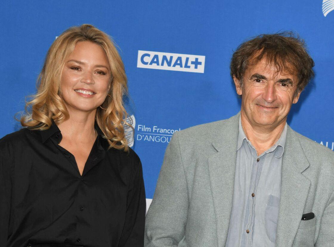 Virginie Efira et Albert Dupontel au Festival du film francophone d'Angoulême le 29 août 2020