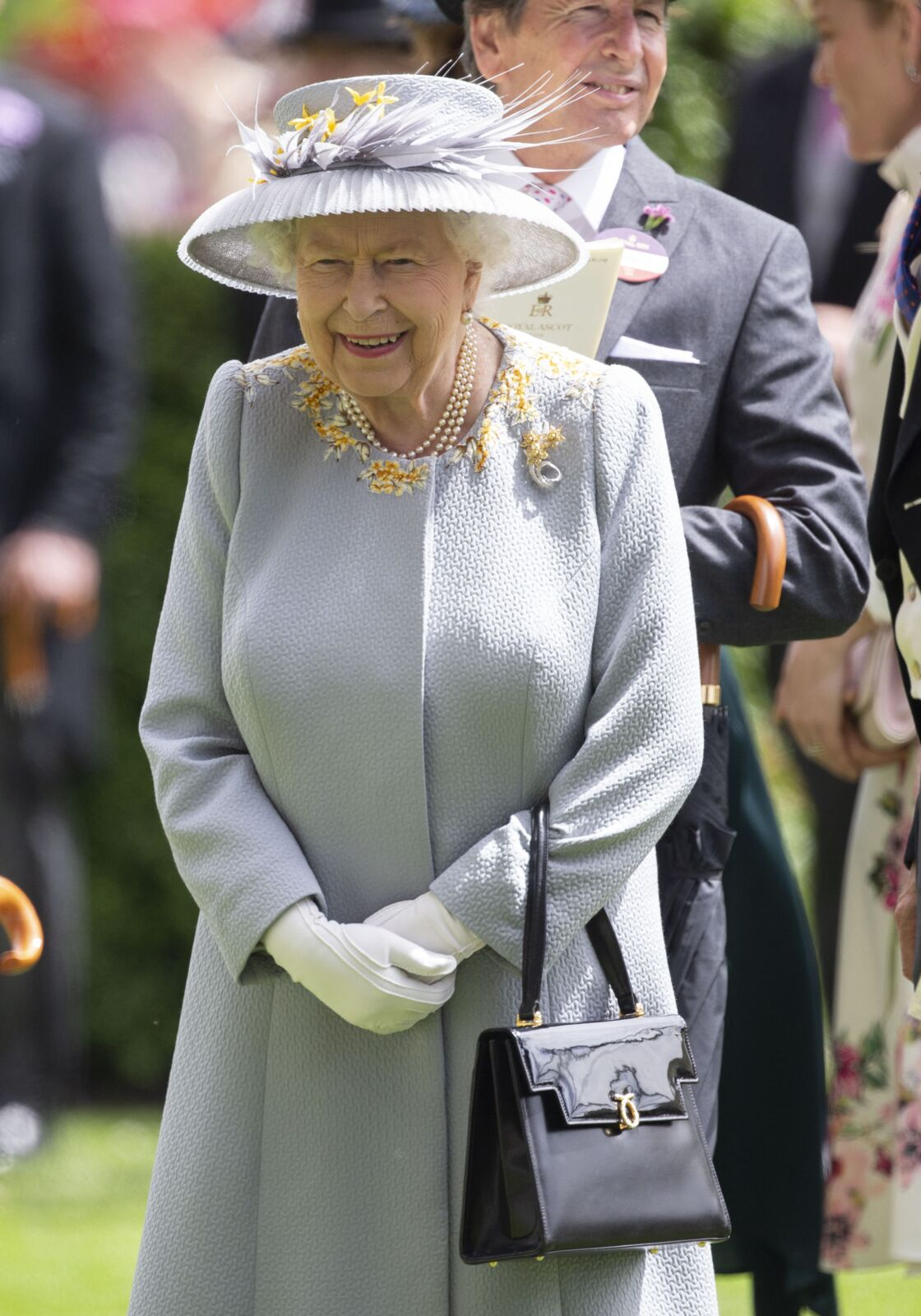 La reine Elizabeth II à Ascot en juin 2019
