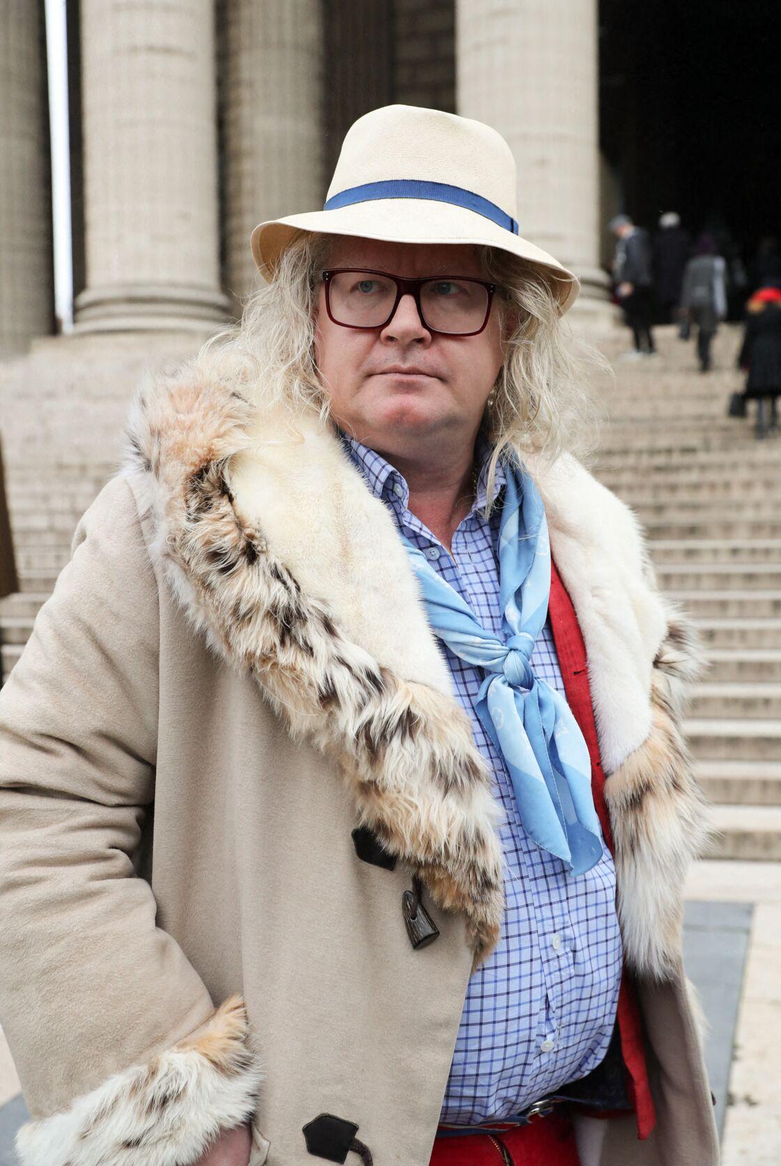Pierre-Jean Chalençon à La Madeleine à Paris, le 29 janvier 2021