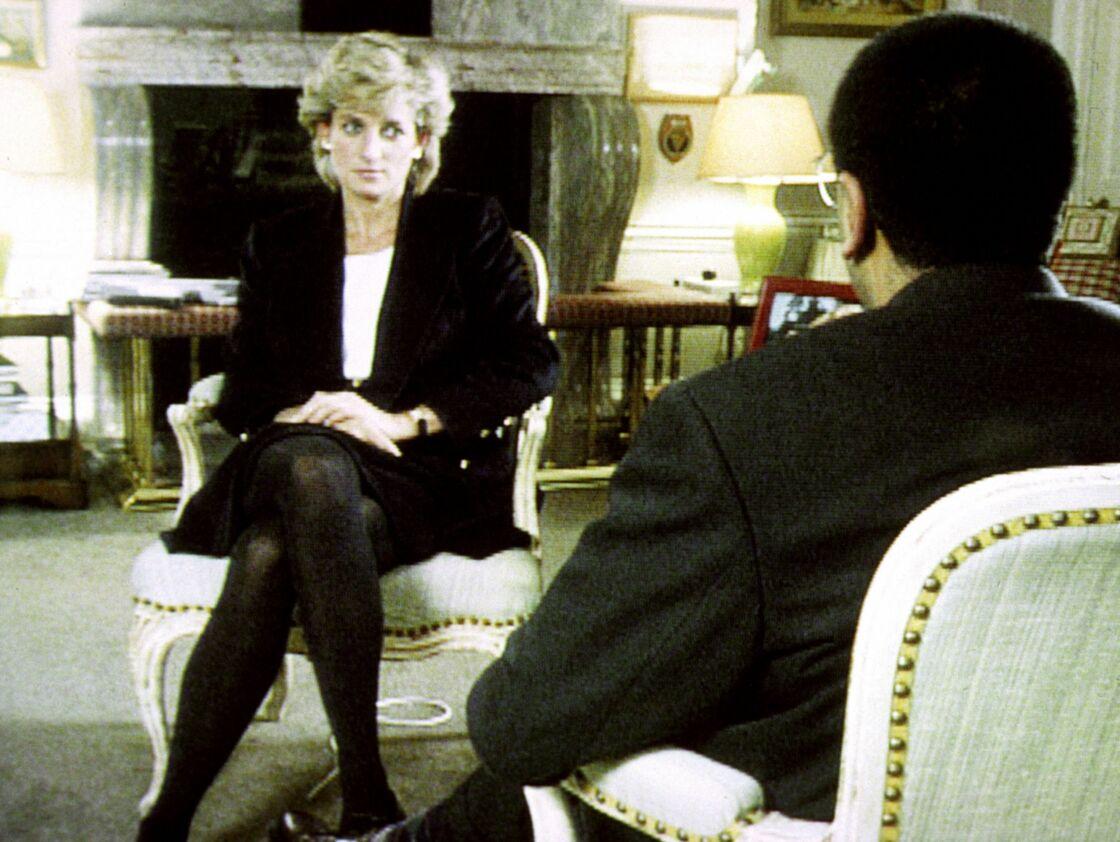 Lady Diana lors de son interview with Martin Bashir (BBC), en novembre 1995