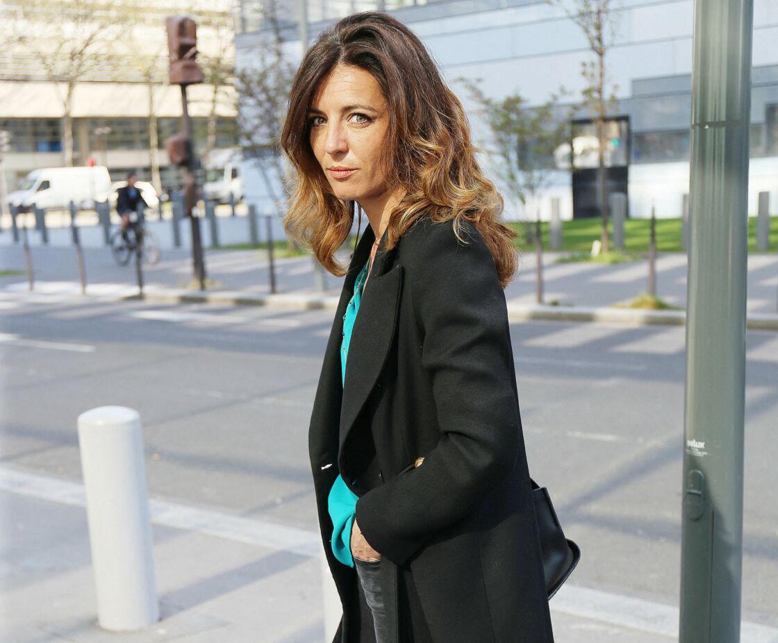 Coralie Dubost en mars 2021 à Paris.