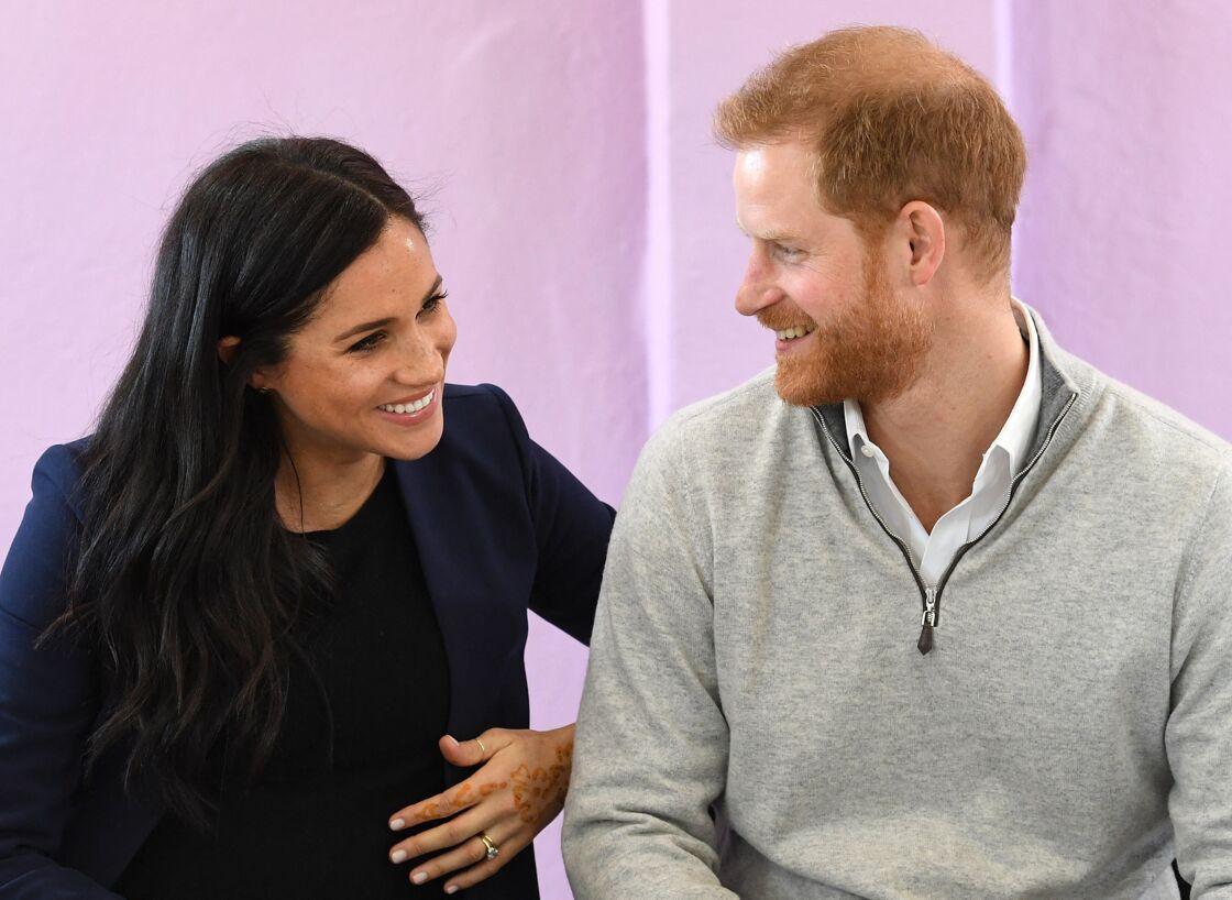 Meghan Markle et le prince Harry, en février 2019.