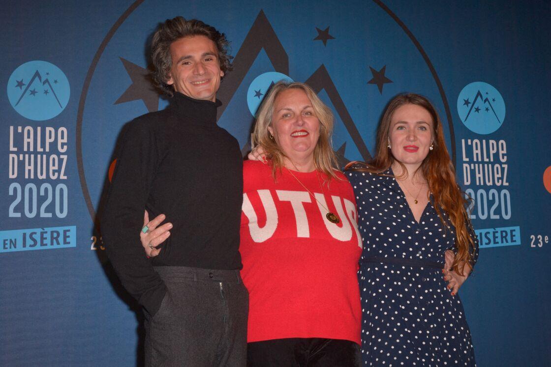 Valérie Damidot et ses deux enfants