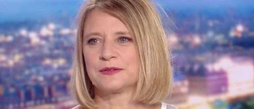 Karine Lacombe dans le JT de TF1
