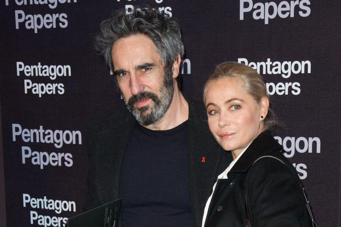 Emmanuelle Béart et son mari, Frédéric Chaudier