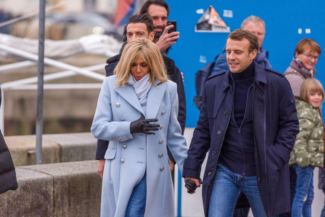 Le couple présidentiel a passé, à la Toussaint 2019, un week-end en intimité à Honfleur.