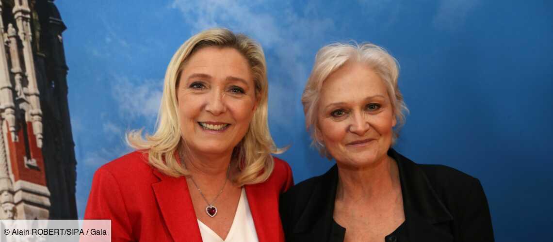 Marine Le Pen : sa soeur Marie-Caroline prête à lui voler la vedette? Elle signe son come-back - Gala