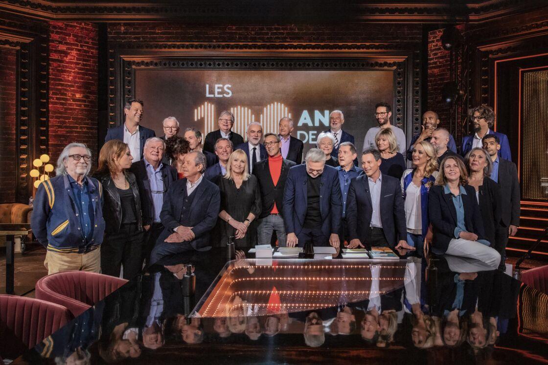 Une trentaine d'invités étaient présents aux 100 ans de la radio, sur France 2, une émission présentée par Laurent Ruquier.