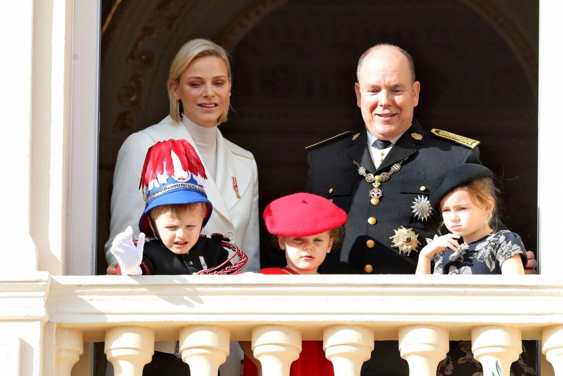 La jeune Kaia-Rose est devenue la meilleure amie de ses cousins, la princesse Gabriella et le prince Jacques de Monaco