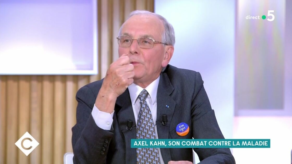 Axel Kahn dans C à Vous, lundi 17 mai 2021.