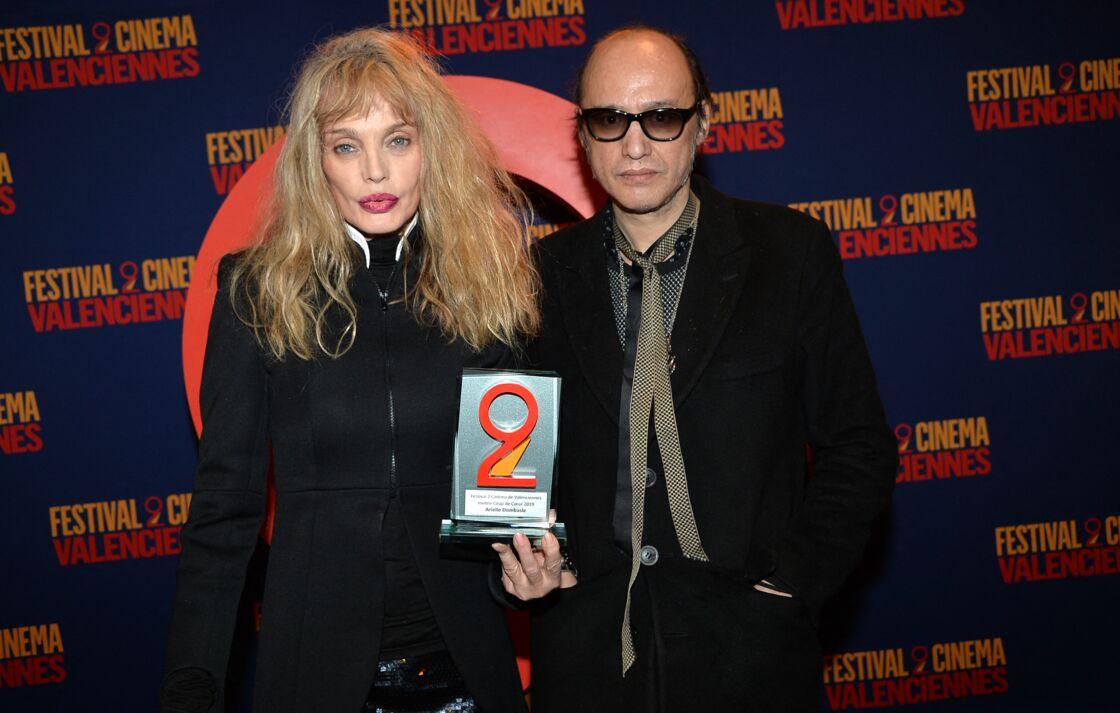 Arielle Dombasle et Nicolas Ker - Clôture du du 9ème festival 2 Valenciennes le 23 mars 2019.
