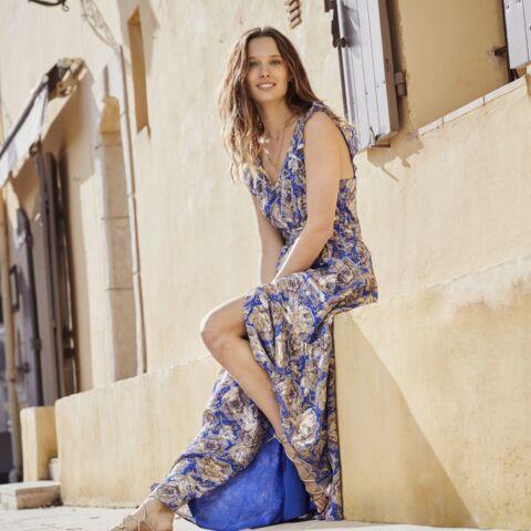 PHOTOS – Ilona Smet rayonnante: elle pose pour la campagne printemps-été 2021 de Maison 123