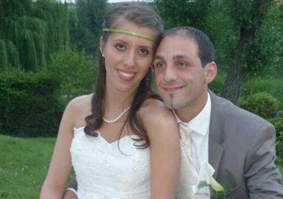 Delphine Jubillar et son mari Cédric.