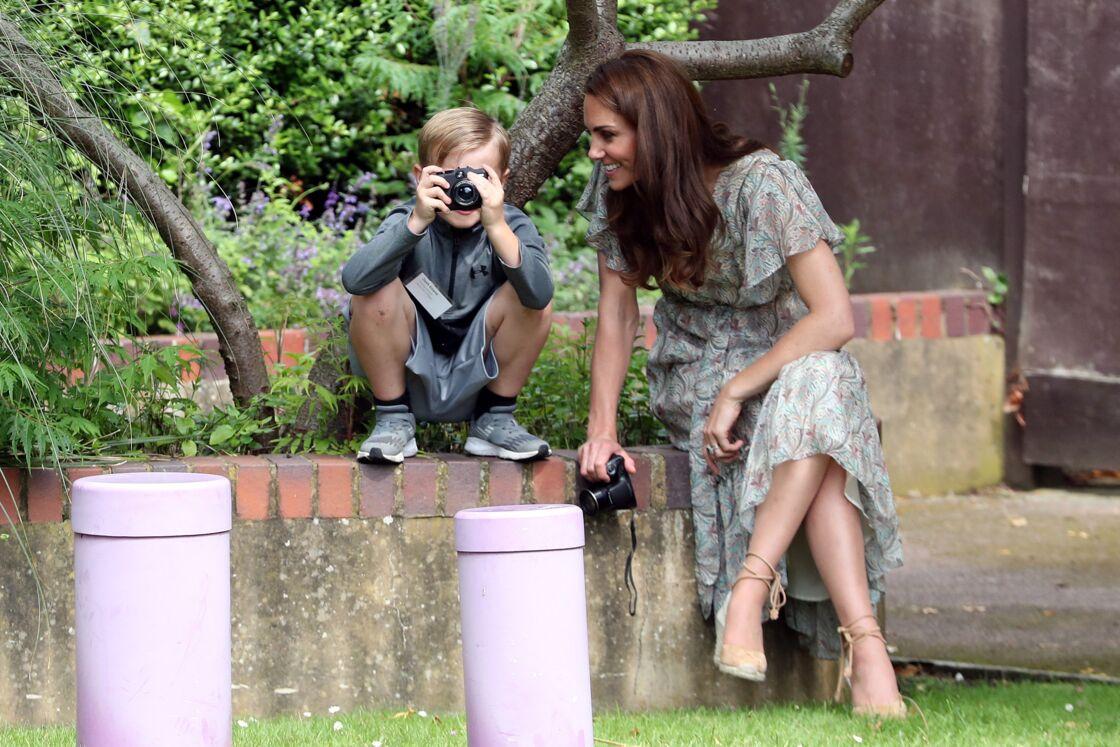 Kate Middleton est fidèle aux espadrilles chaque été