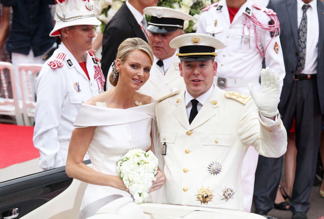 Mariage de Charlene et Albert II de Monaco le 2 juillet 2011, à Monaco