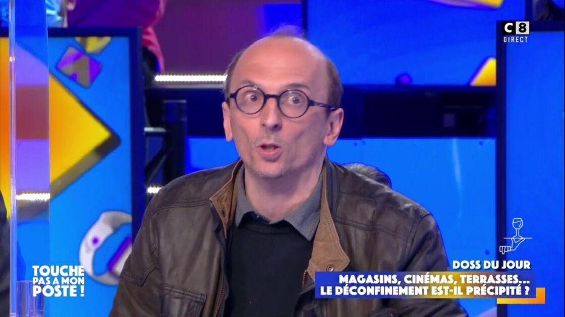 L'avocat Fabrice Di Vizio sur le plateau de Touche pas à mon poste ! sur C8 le 19 mai 2021
