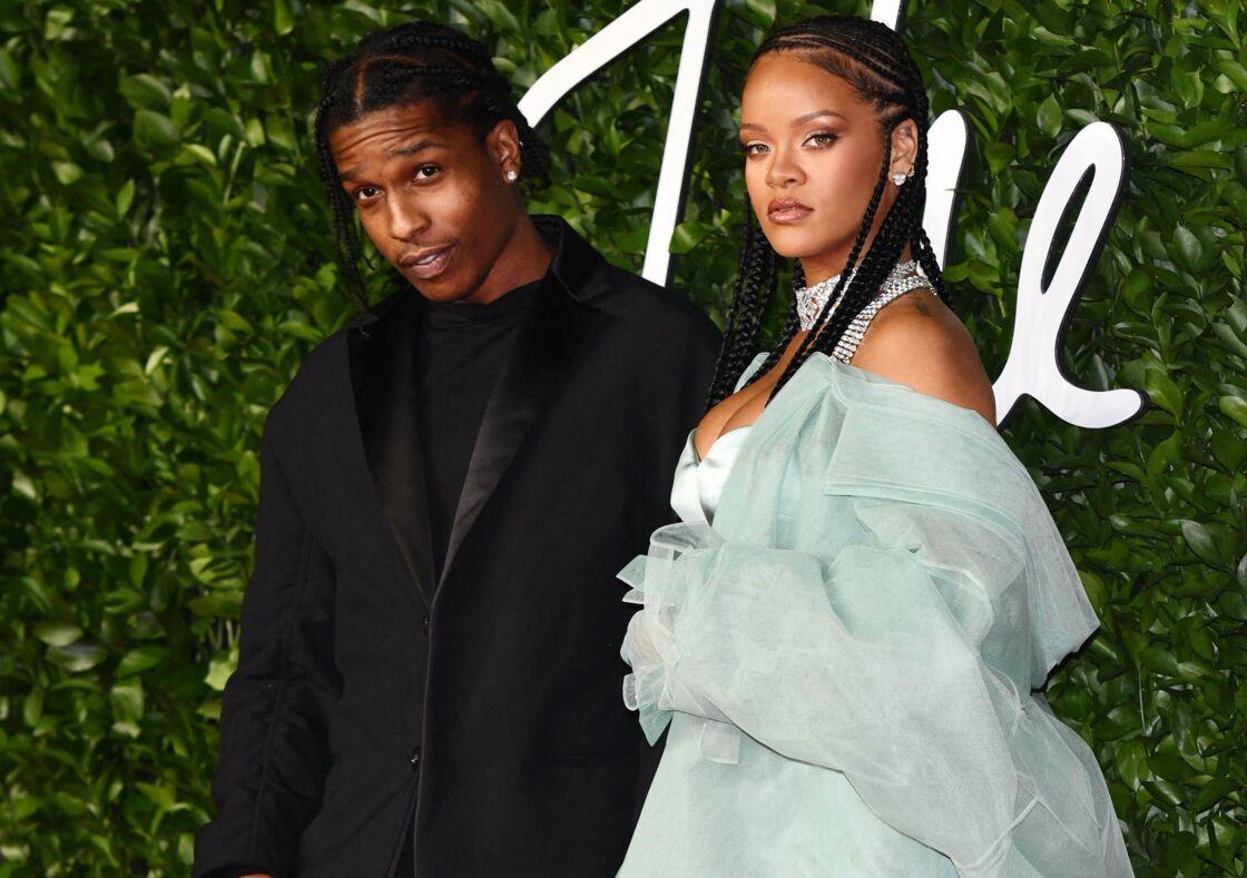 A$AP Rocky et Rihanna - Les célébrités assistent à la cérémonie des