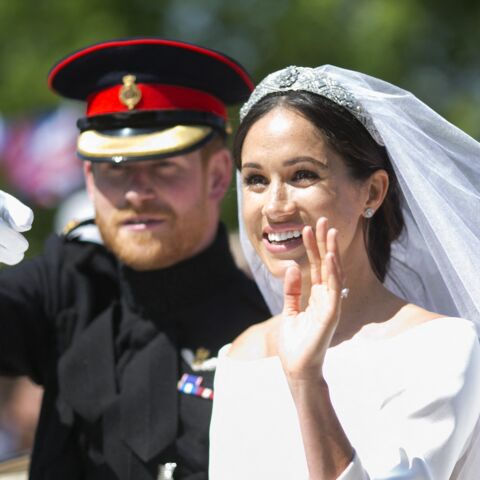 PHOTOS – Meghan Markle:  les 5 secrets de sa robe de mariée