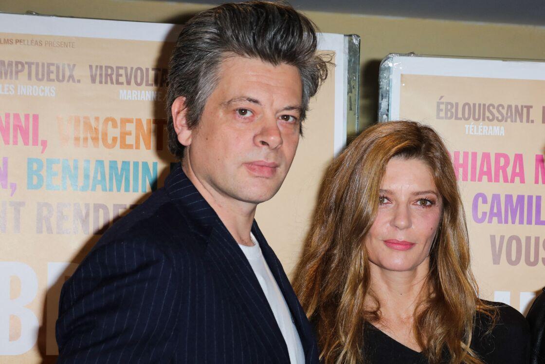 Benjamin Biolay et Chiara Mastroianni en 2019
