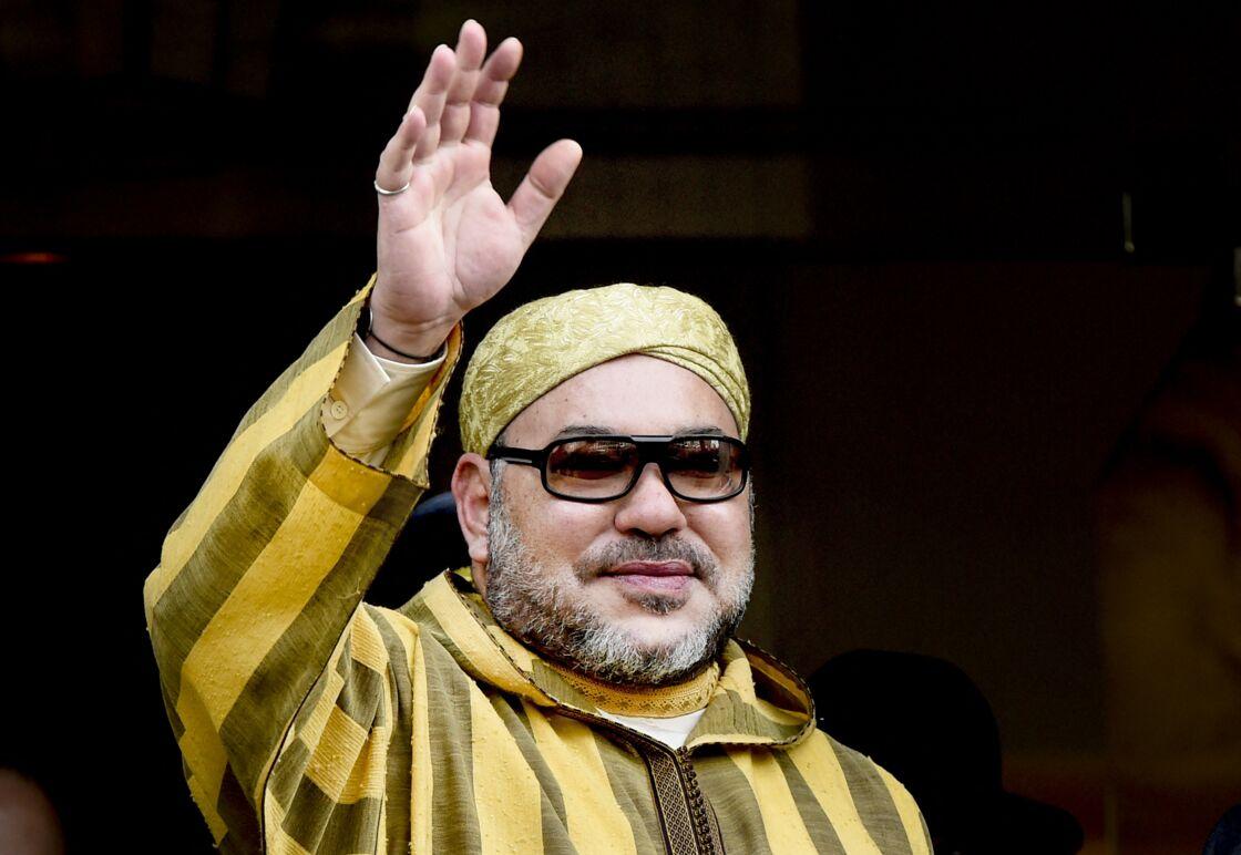 Le roi Mohammed VI du Maroc à Amsterdam le 30 mars 2016