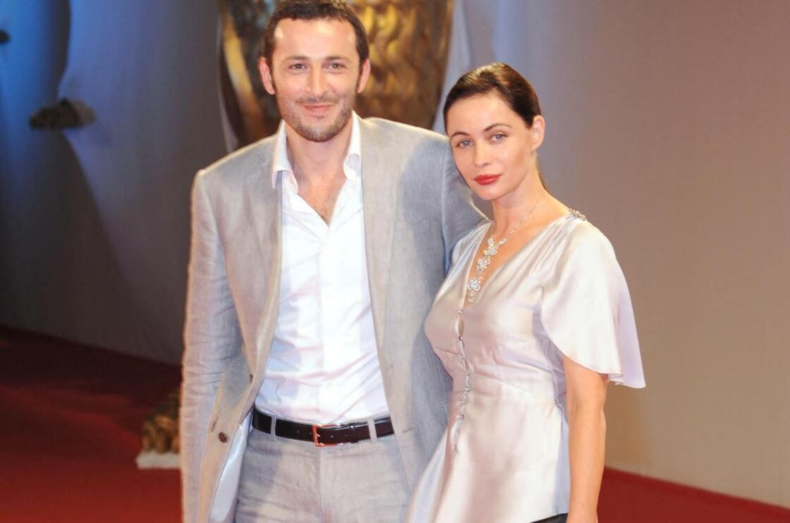 Michaël Cohen et Emmanuelle Beart à la première du film