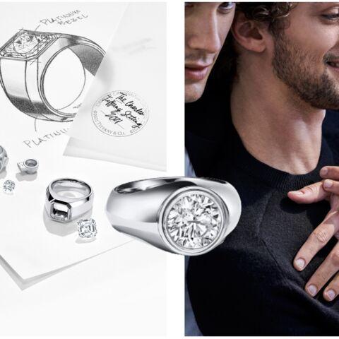Mariage: Tiffany & Co. lance la bague de fiançailles pour hommes