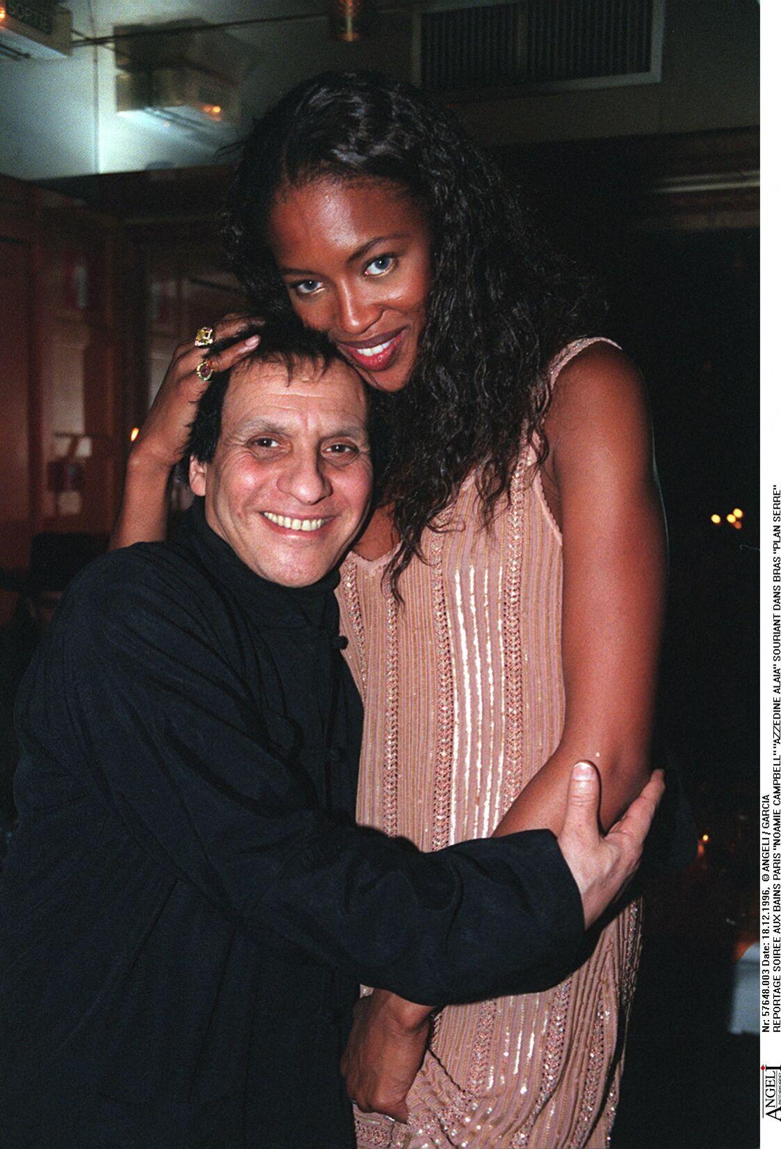 Naomi Campbell et son mentor Azzedine Alaia décédé en novembre 2017