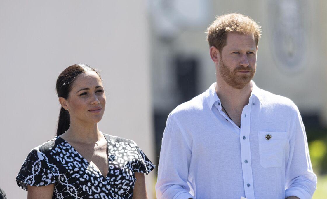 Meghan Markle et le prince Harry, en 2019.