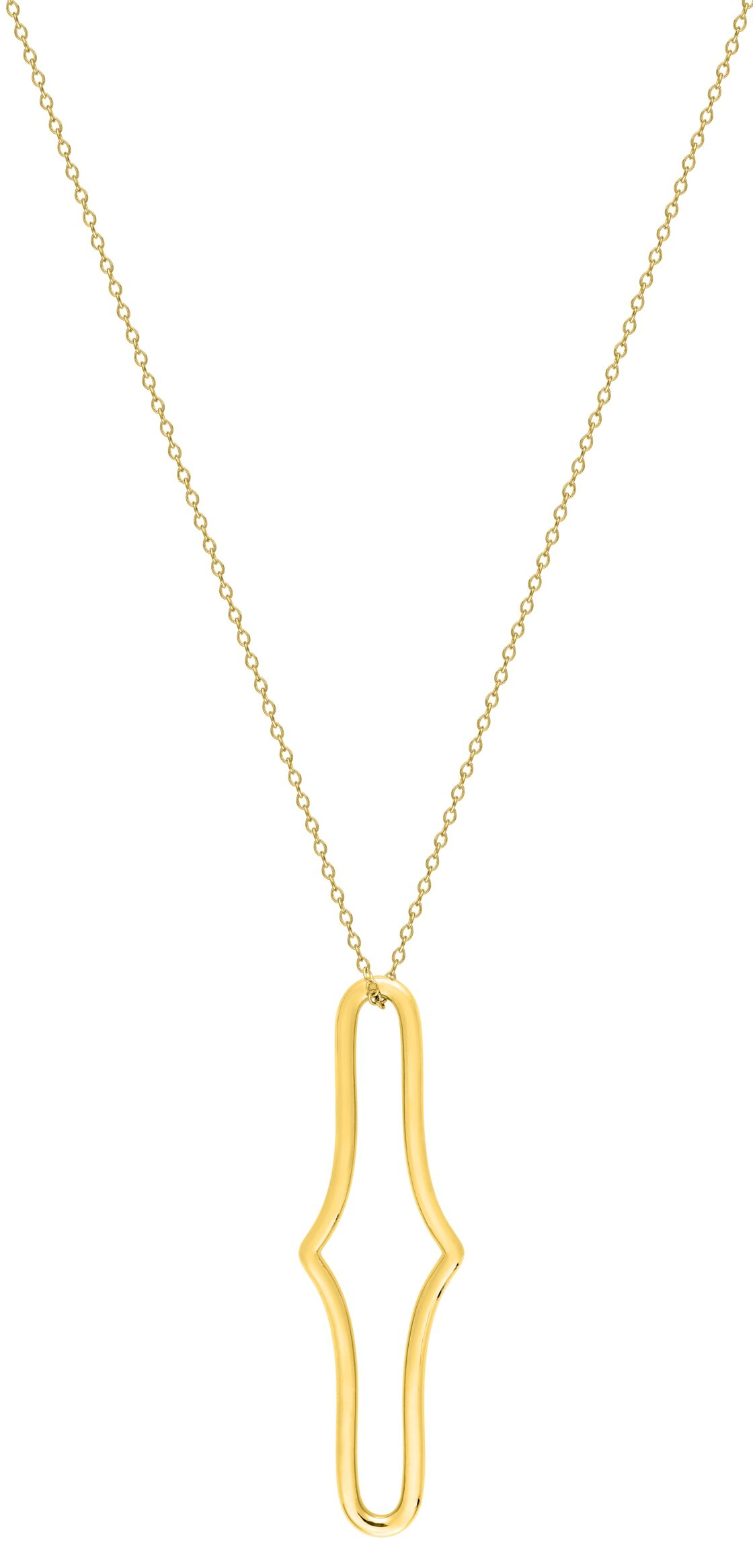 Collier Glamour en plaqué or