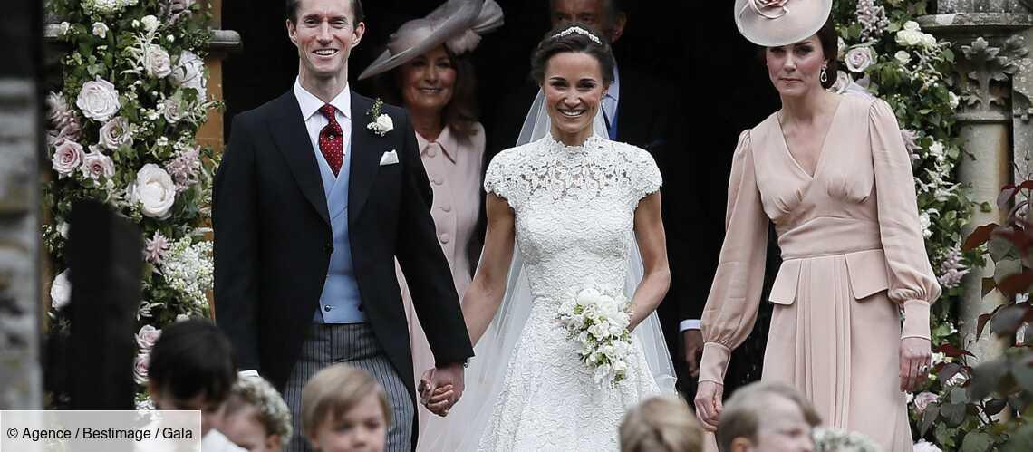 PHOTOS – Kate Middleton, Charlotte Casiraghi : les plus belles robes du gotha pour un mariage - Gala