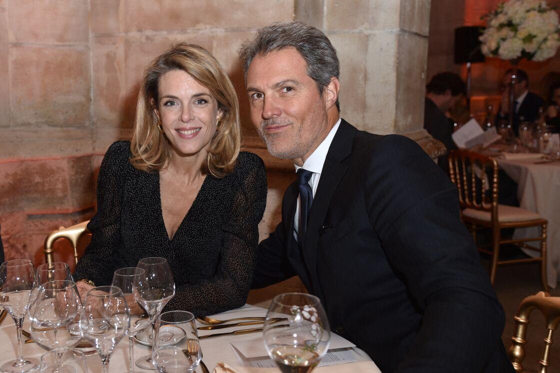 Julie Andrieu et son mari Stéphane Delajoux