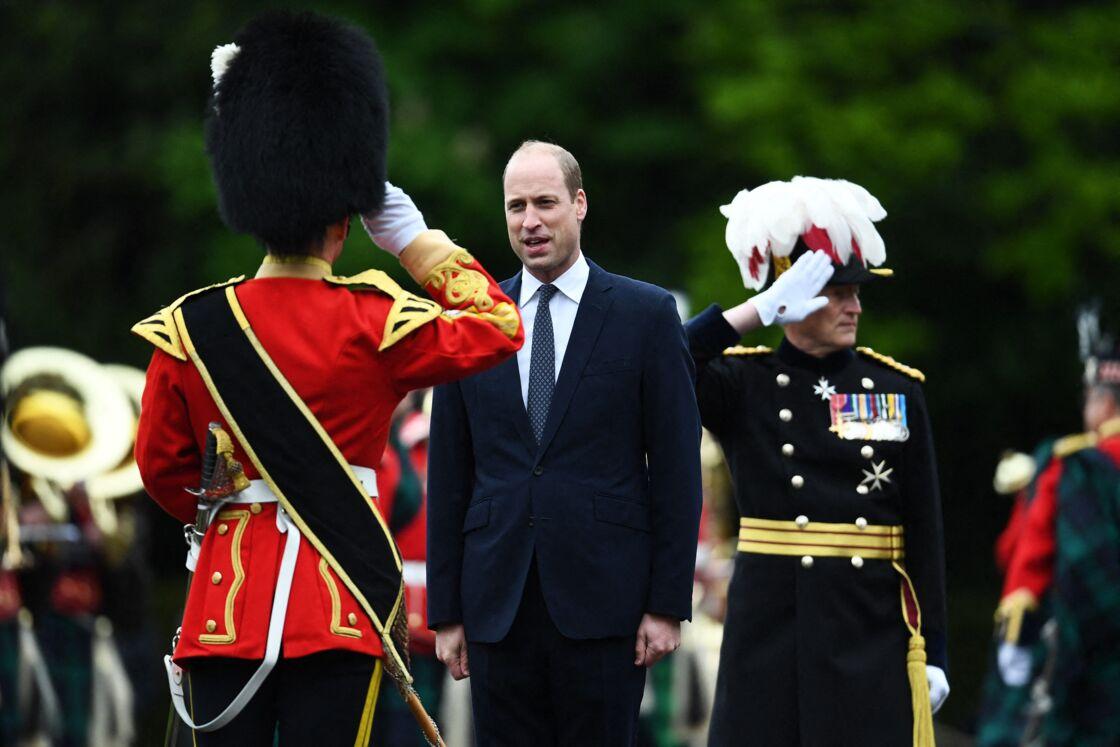 Le prince William à son arrivée à l'Assemblée générale de l'Église d'Écosse au palais de Holyroodhouse, à Édimbourg.
