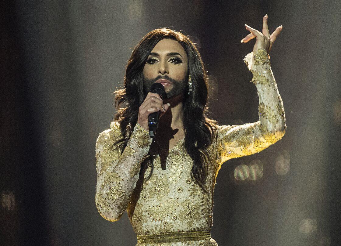 Conchita Wurst a remporté l'Eurovision le 10 mai 2014 avec la chanson