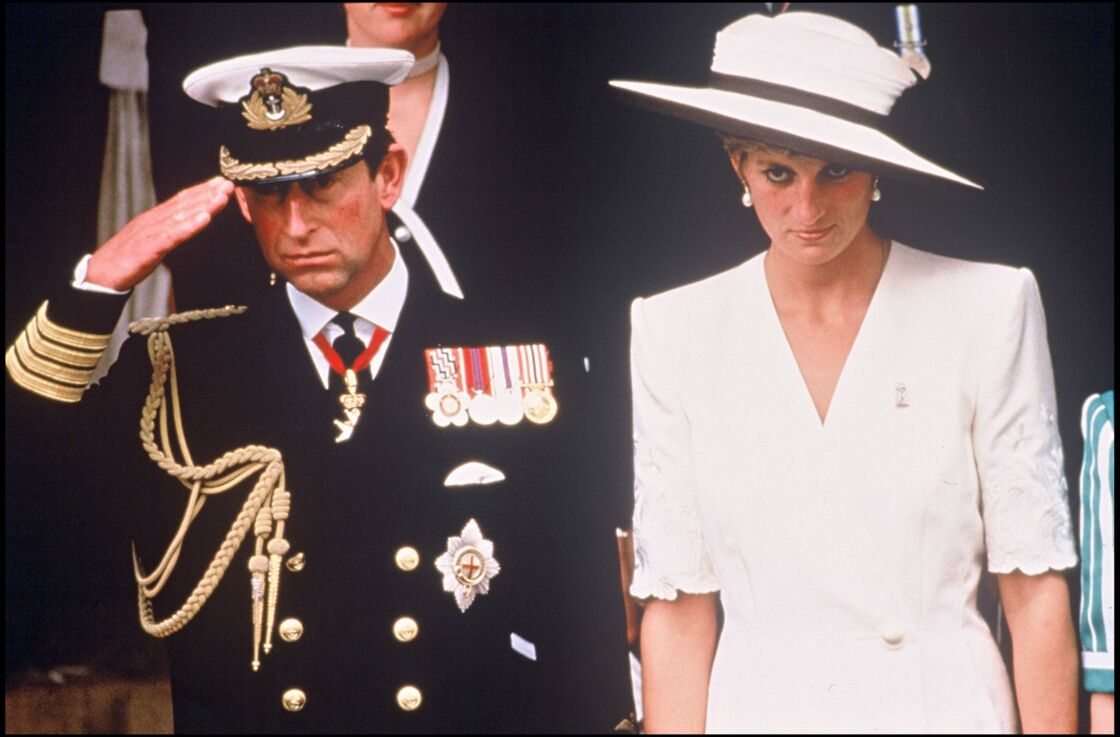 Le prince Charles et Lady Diana