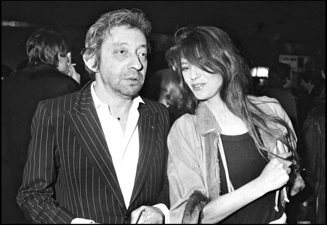 Serge Gainsbourg et Jane Birkin, le 18 janvier 1980