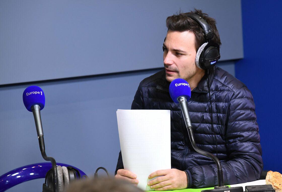 Bertrand Chameroy lors de l'émission
